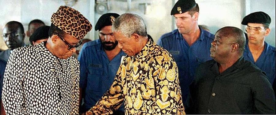 mobutu and mandela