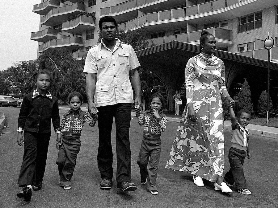 muhammad ali family in cherry hill