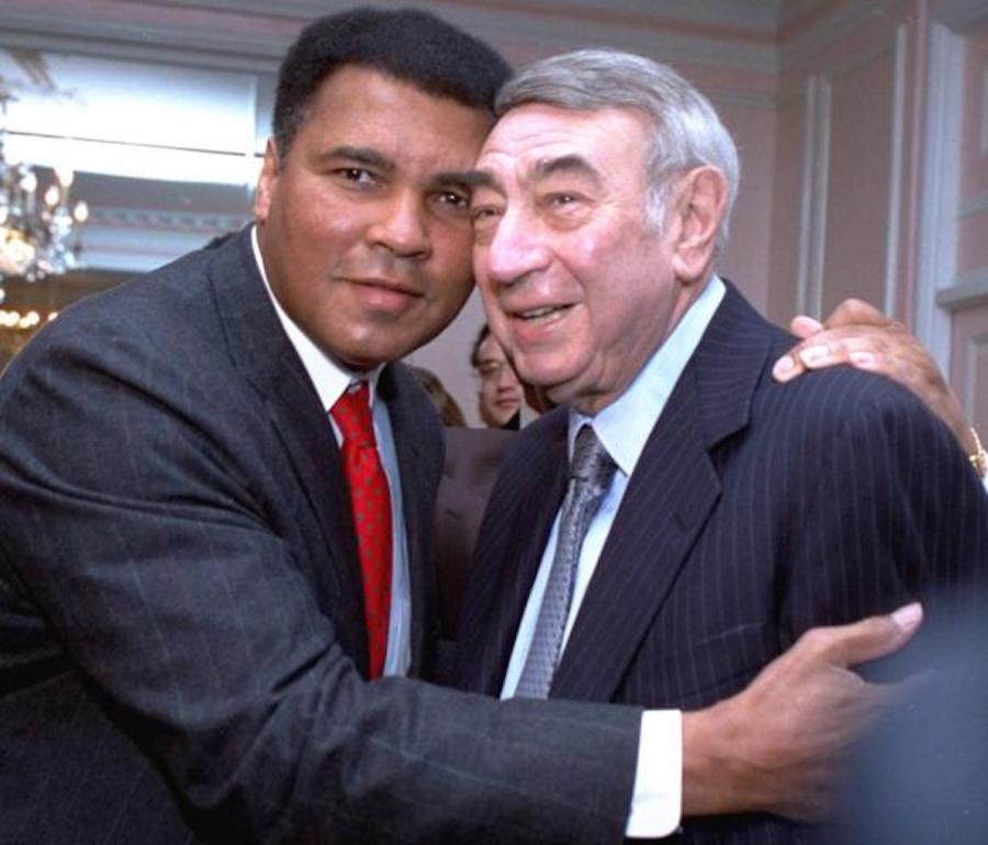 Muhammad Ali with Howard Cosell