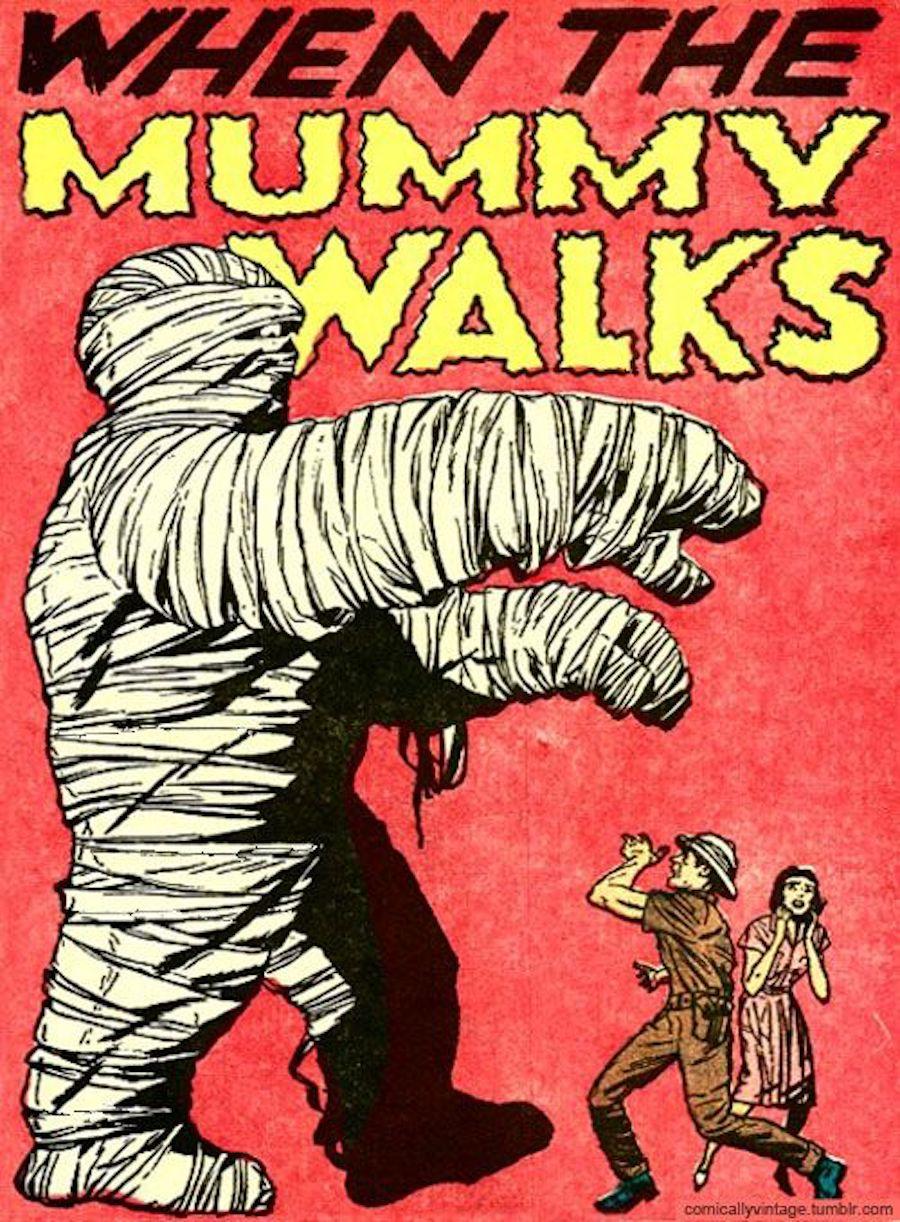 mummy walks