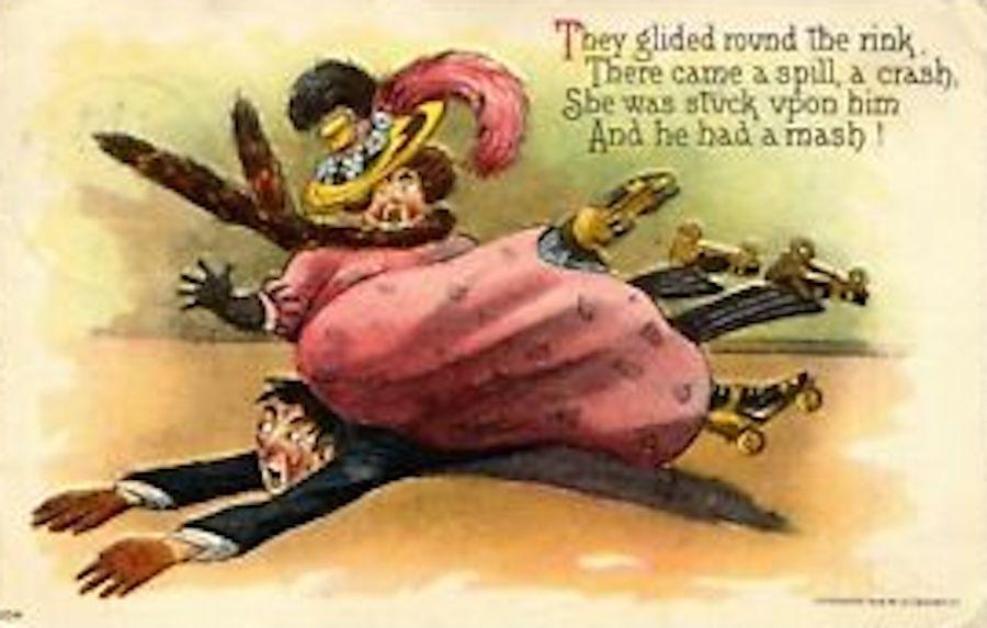 skating accident