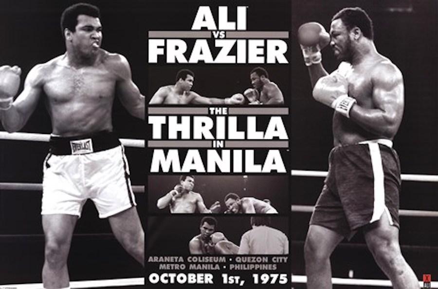thrilla in manilla poster