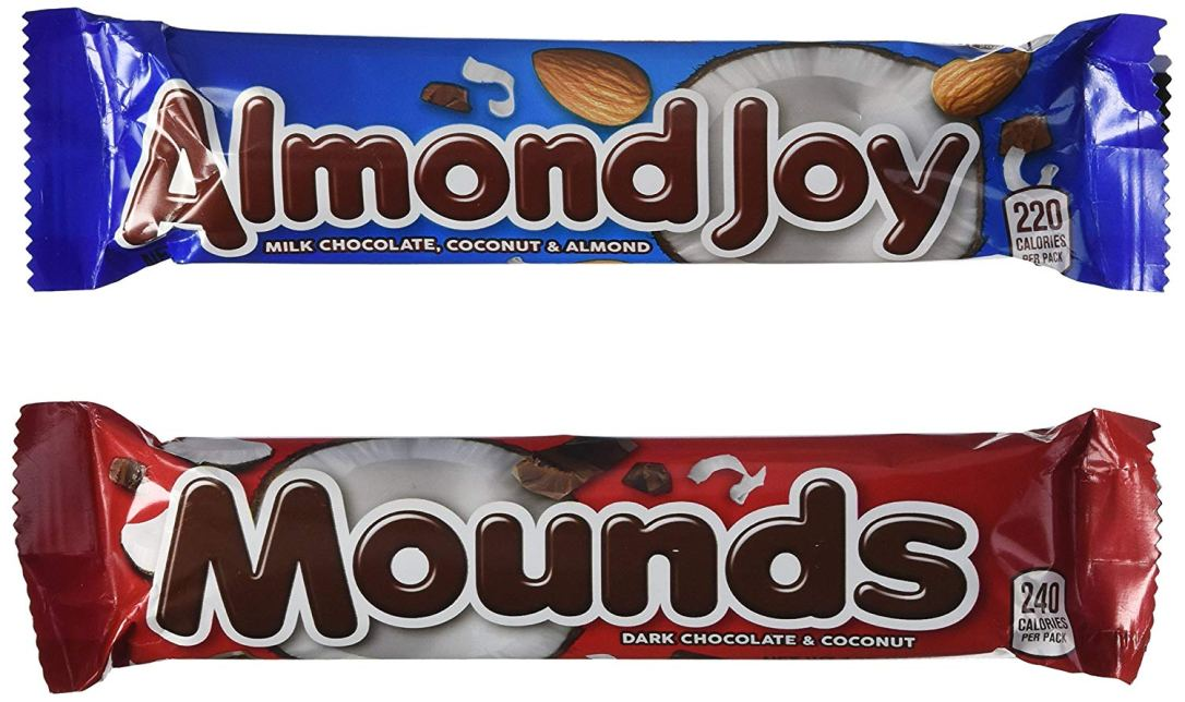 almond joy mounds
