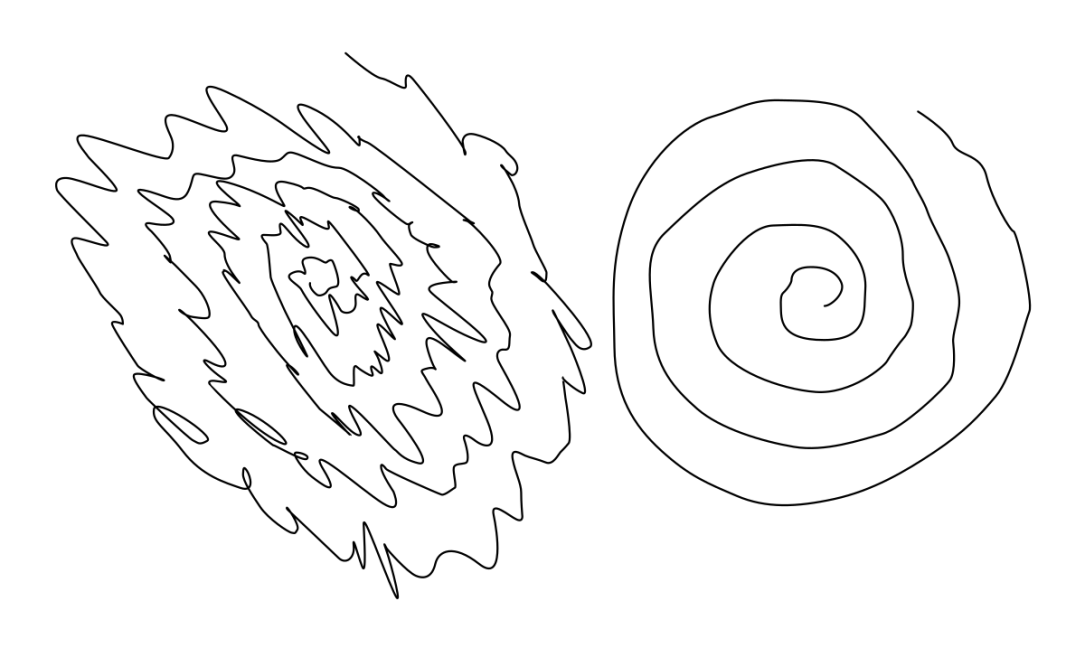 Essential Tremor - Spiral Drawings