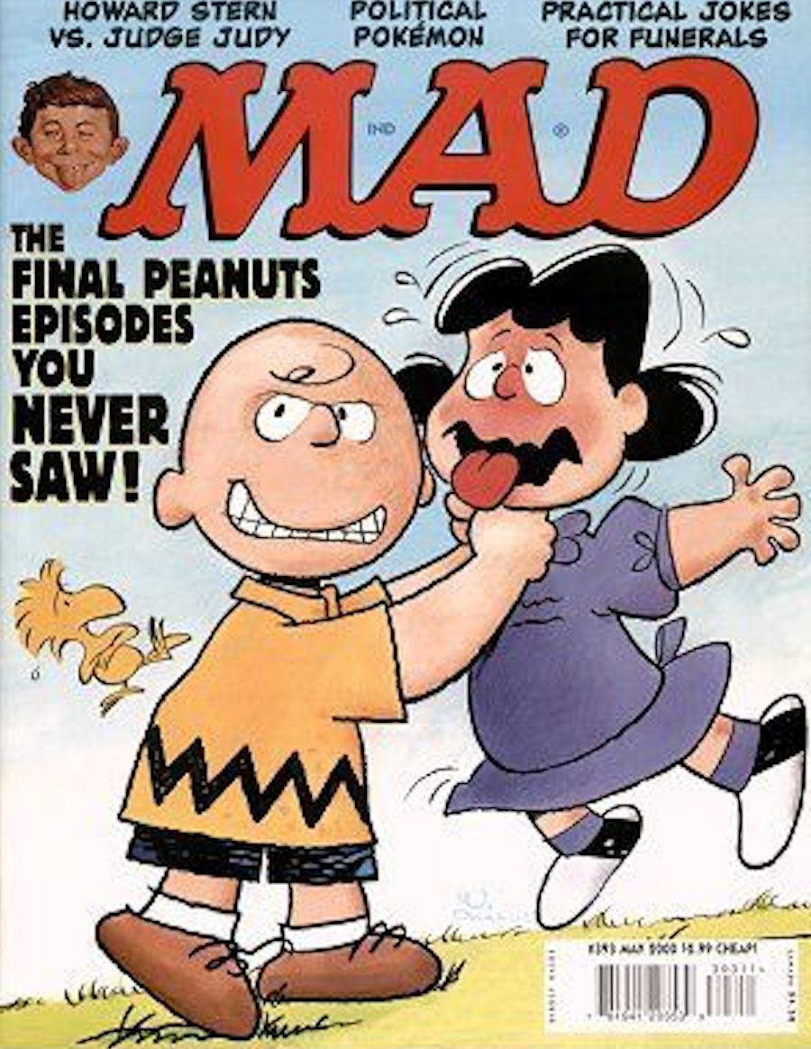 mad snoopy charlie brown and lucy