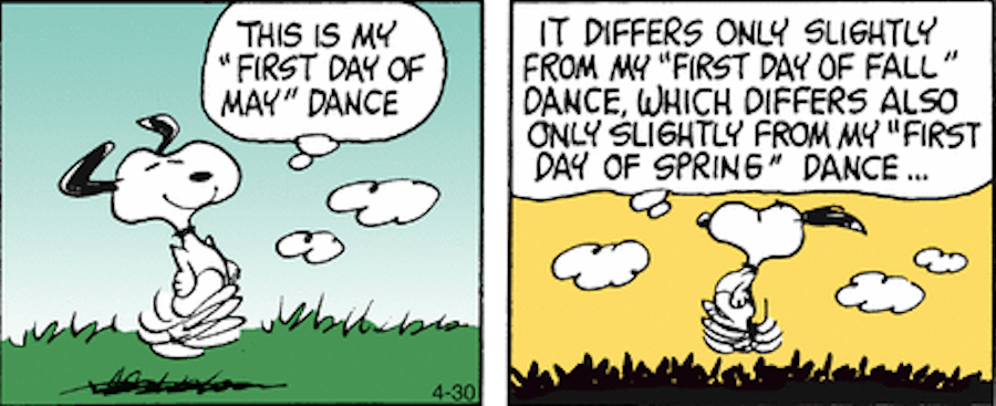 Snoopy Dances on Walpurgisnacht