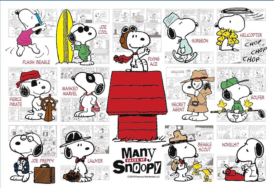 snoopy many faces 2