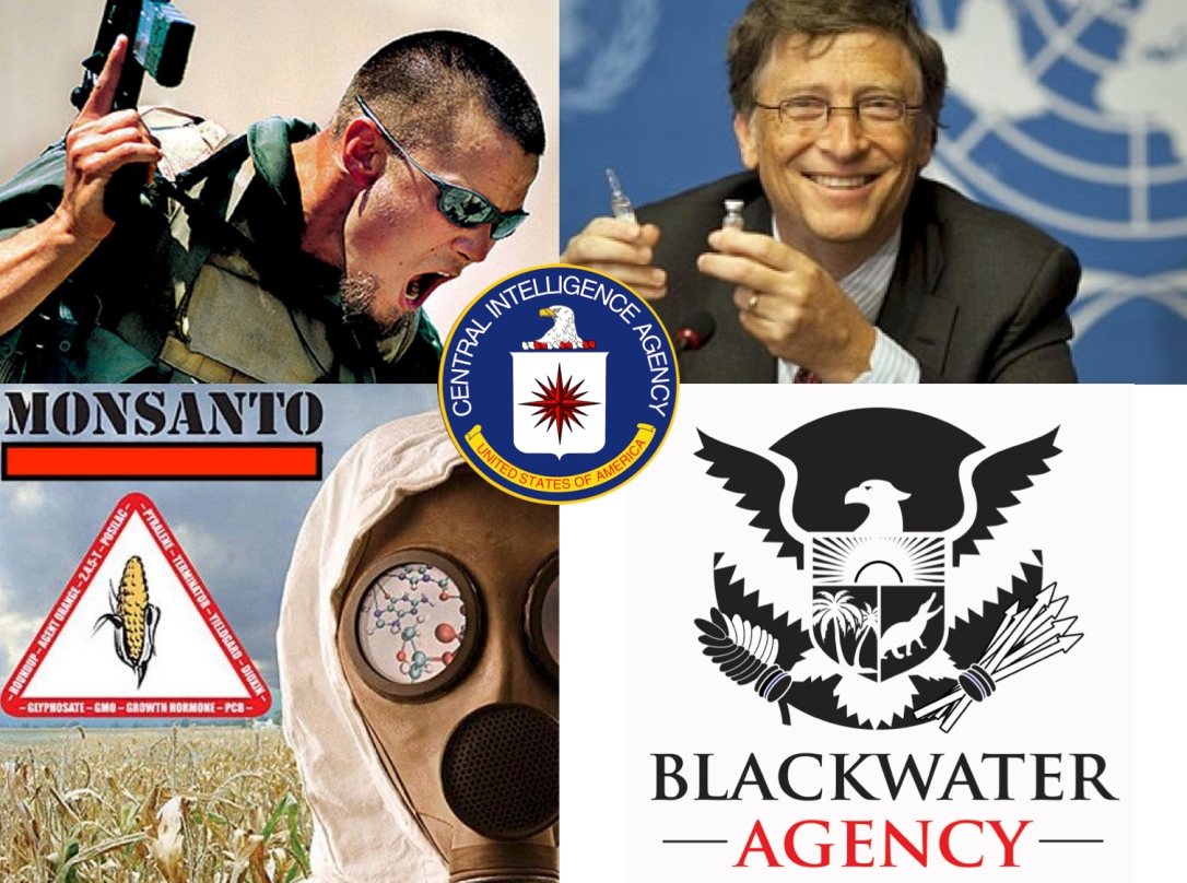 blackwater monsanto gates