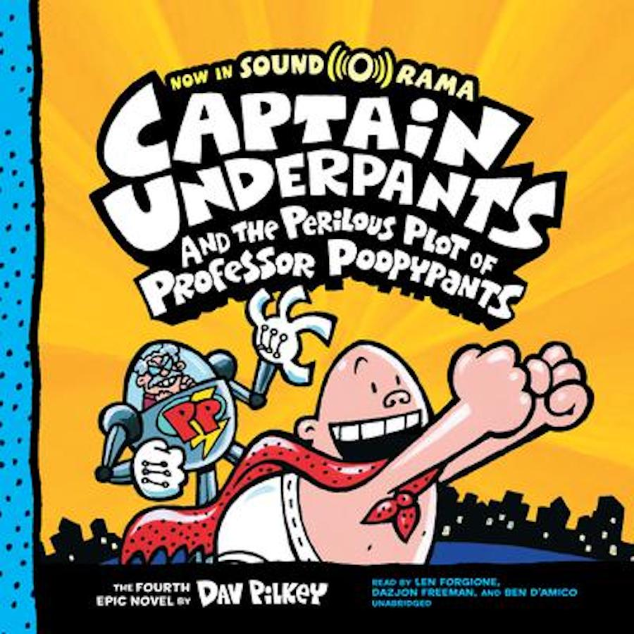 captain underpants - poopypants