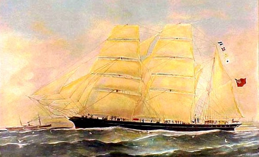 Conrad's Ship (Bark Otago)