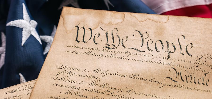 Constitution American Flag