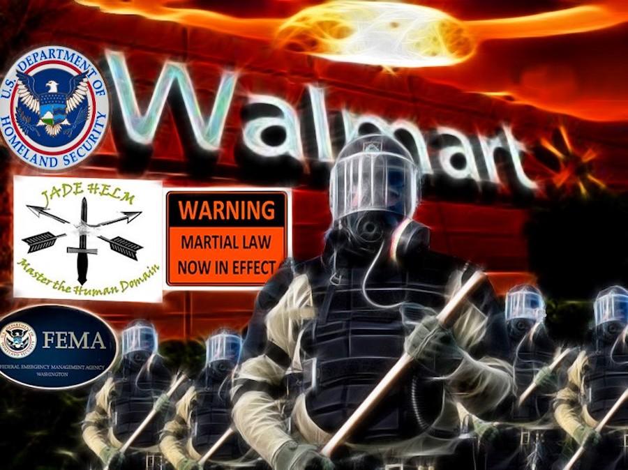 FEMA-Walmart jade helm