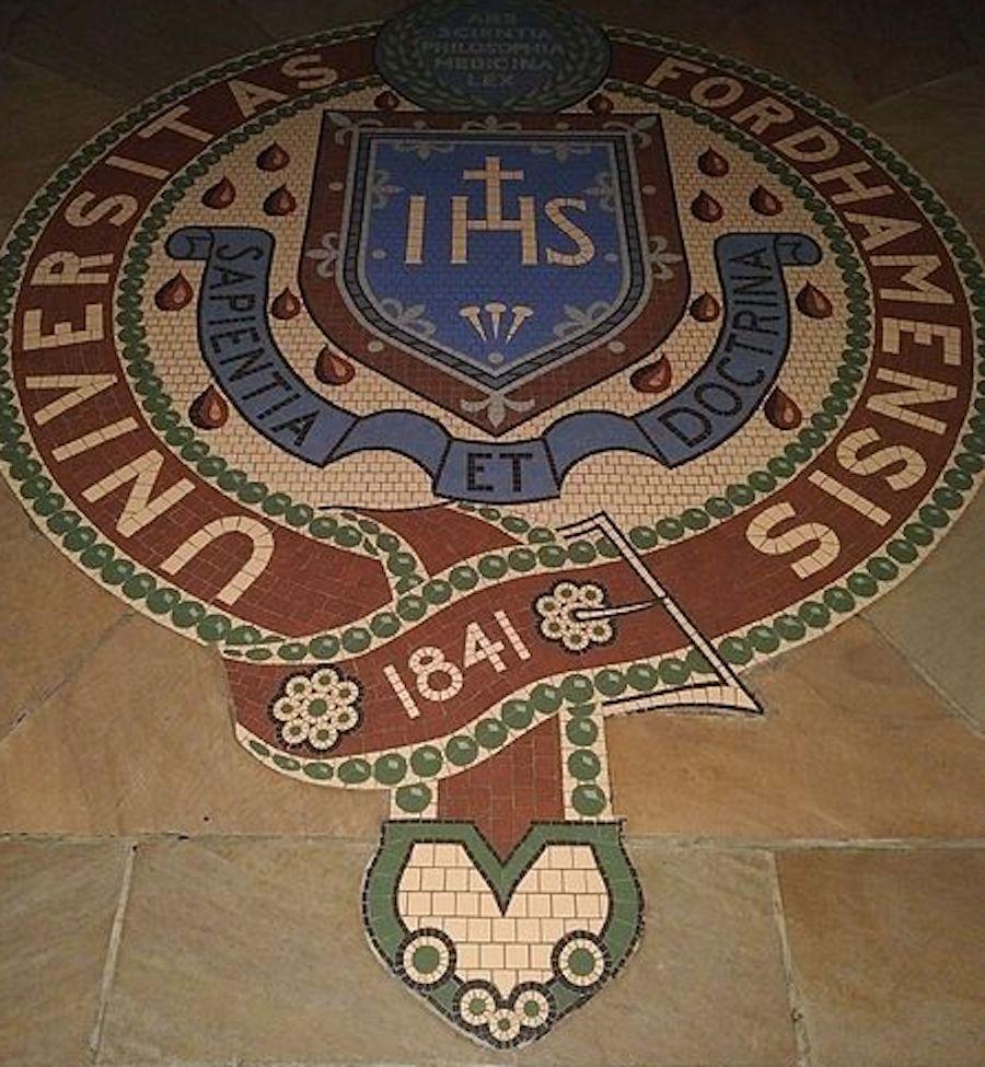 fordham seal mosaic