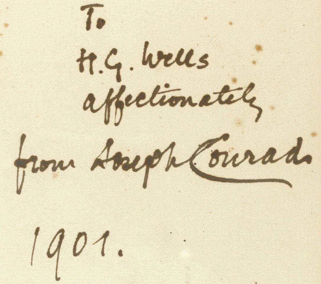 inheritors inscription to h.g. wells
