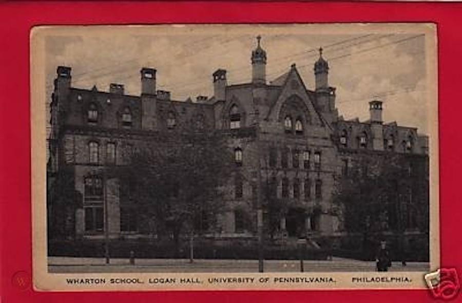 penn wharton logan hall