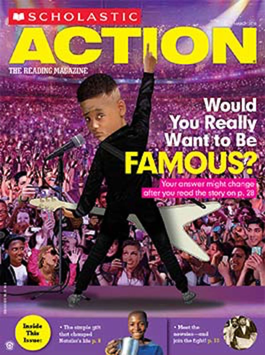 scholastic action - famous