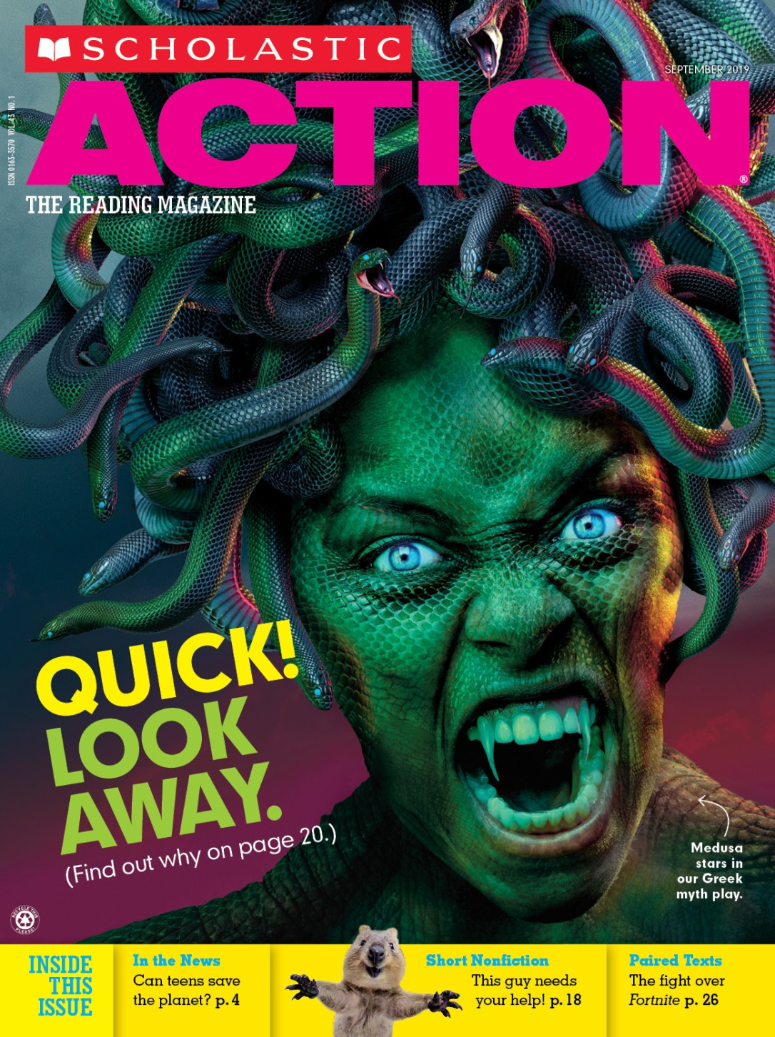 scholastic action - gorgon