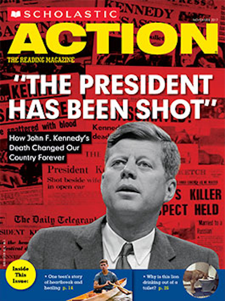 scholastic action - jfk