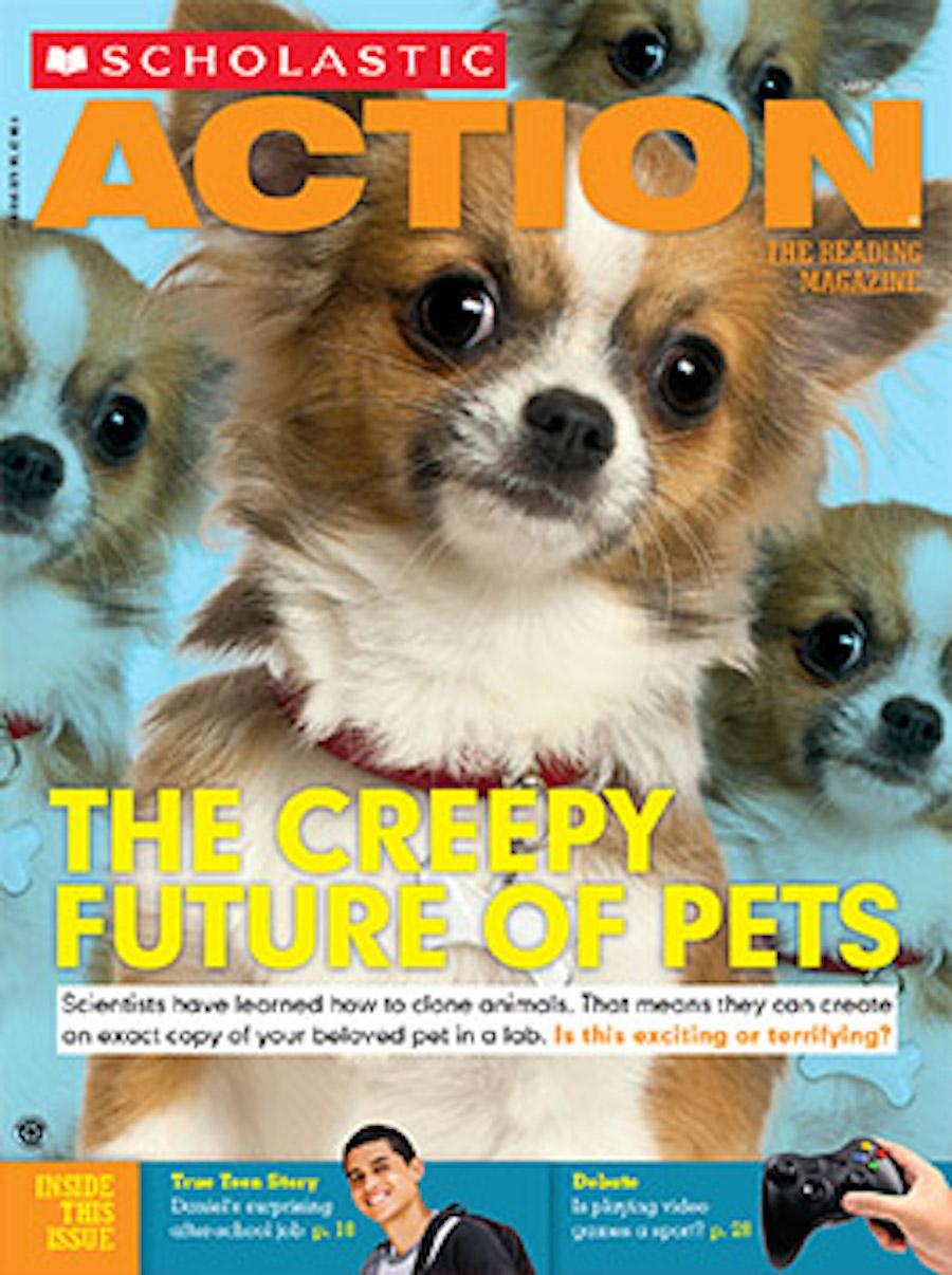 scholastic action - pets