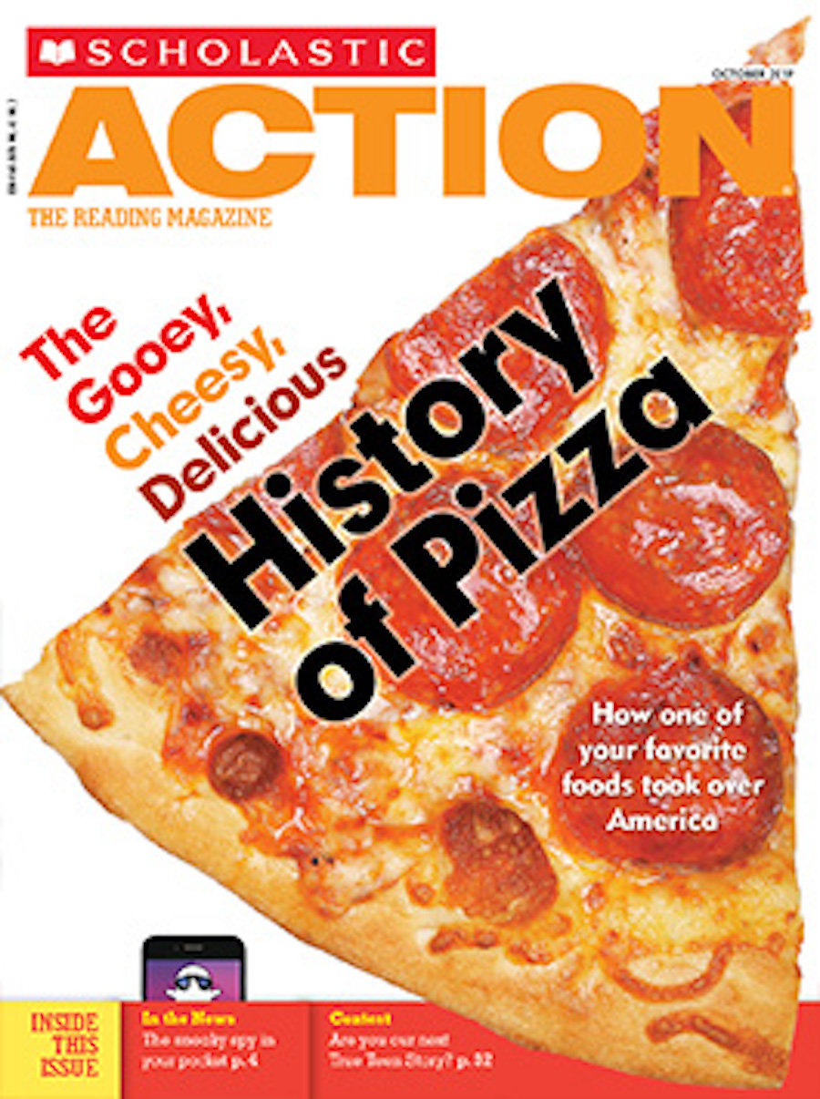 scholastic action - pizza