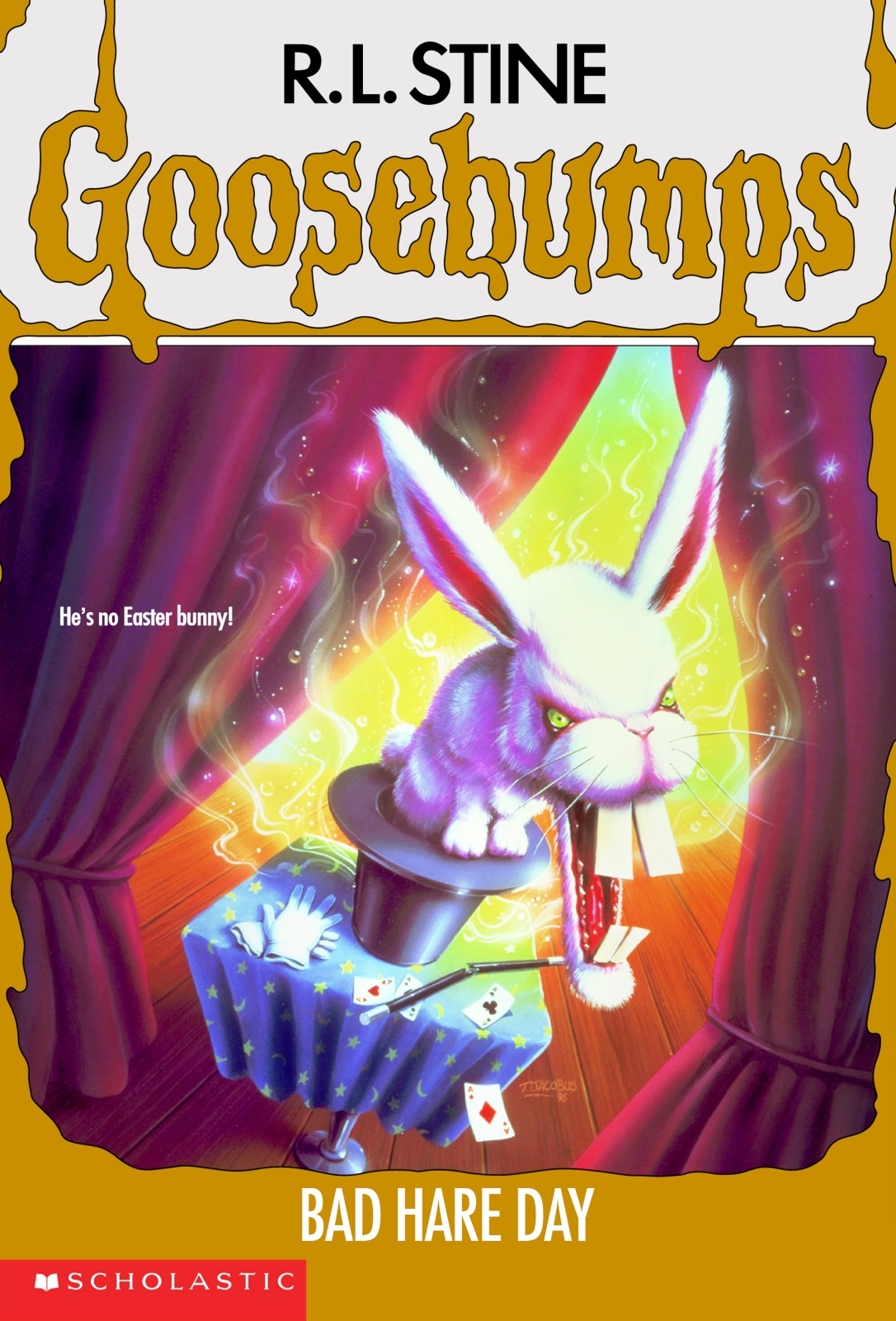 scholastic goosebumps rabbit