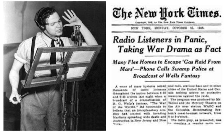 war of the worlds new york times