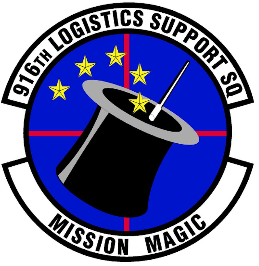 916_Logistics_Support_Sq_(later_916_Maintenance_Operations_Flt)_emblem