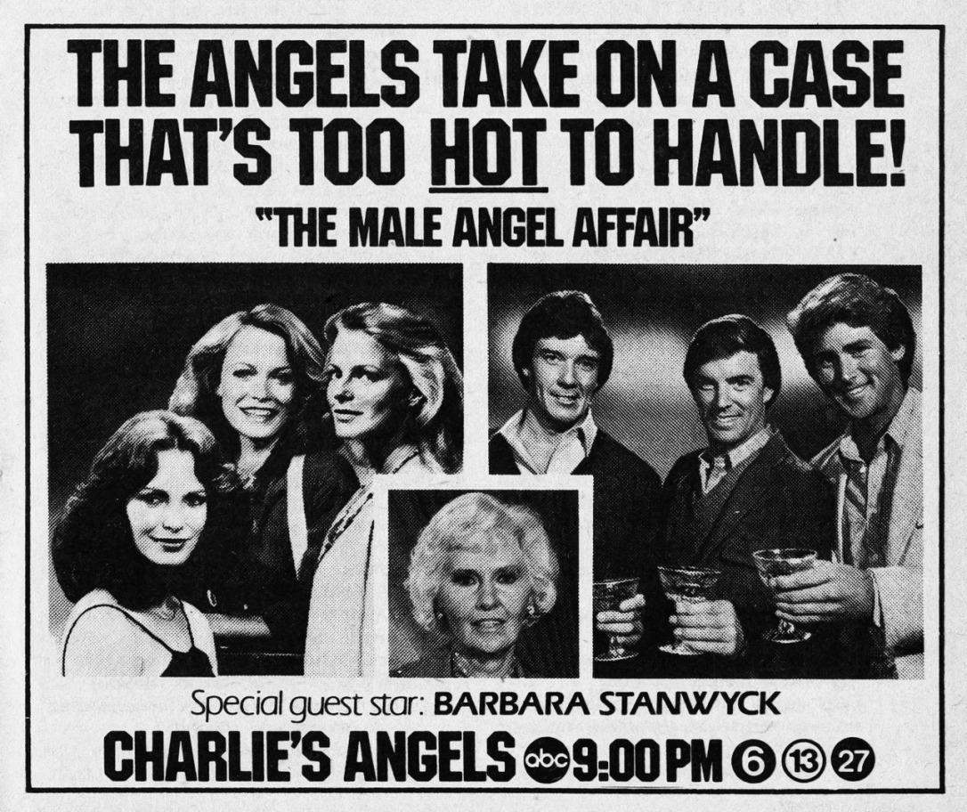 bob seagren in toni's boys charlie's angels