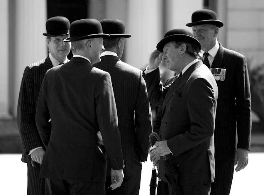 bowler hat businessmen