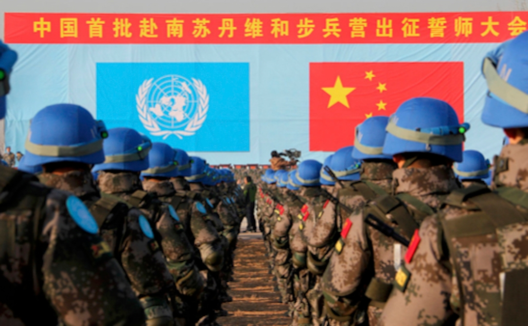 china united nations troops