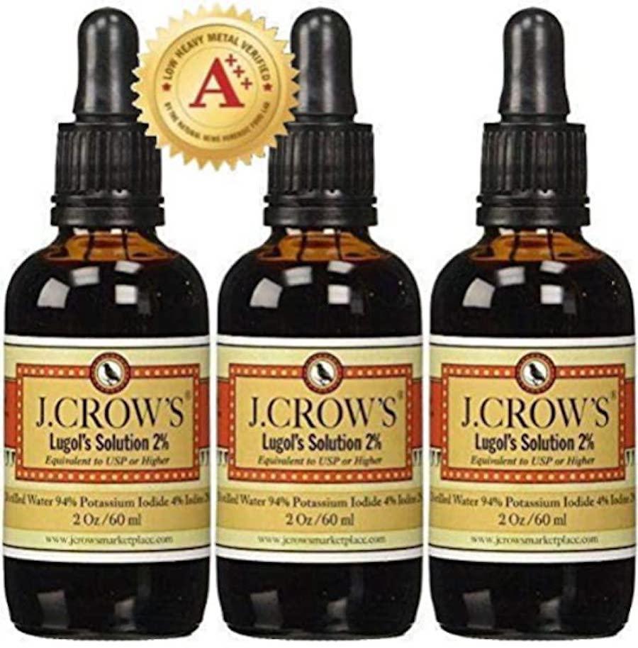 crow's iodine