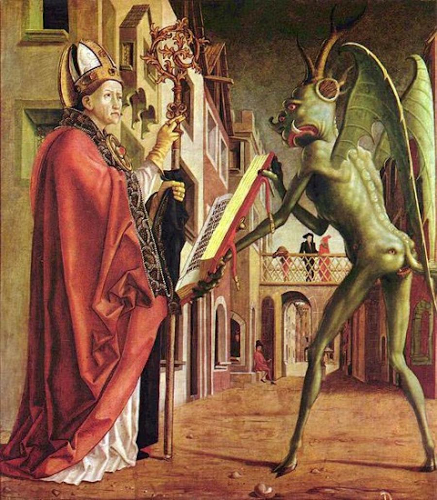 devil satan saint