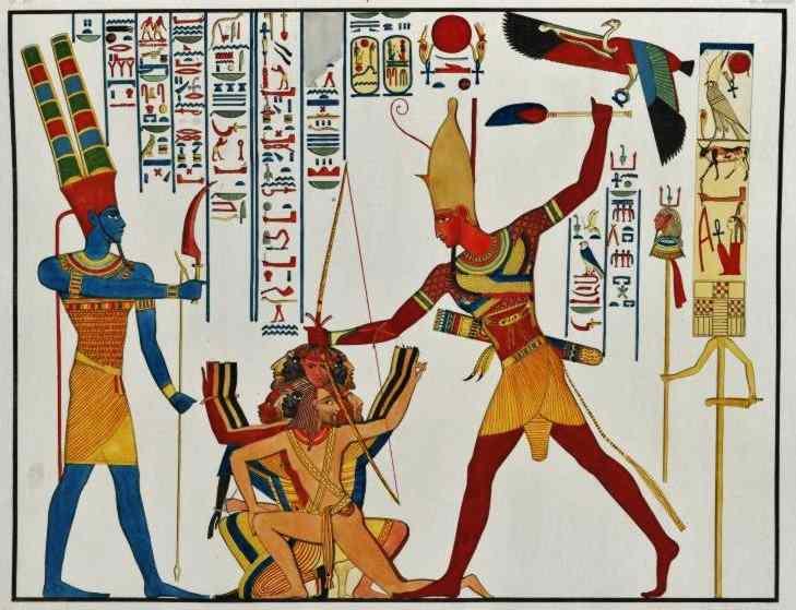 egypt human sacrifice