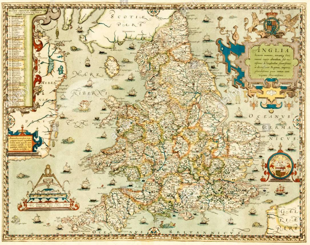 elizabethan map 2