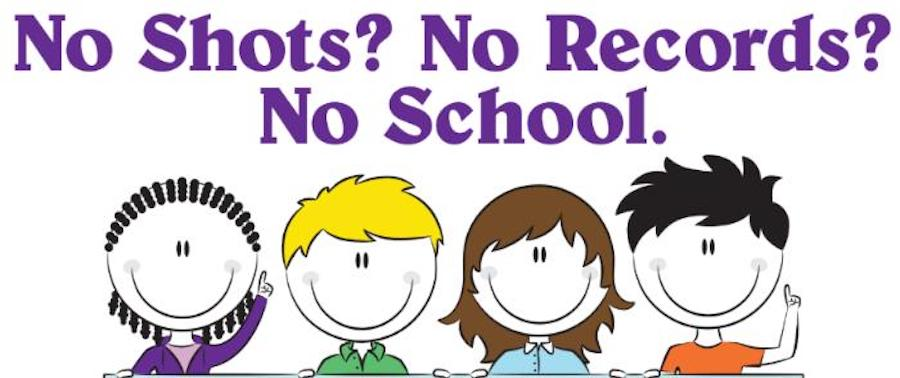 immunization vaccines no shots no school