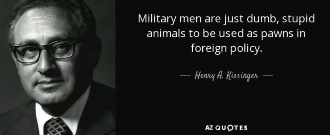 kissinger military men