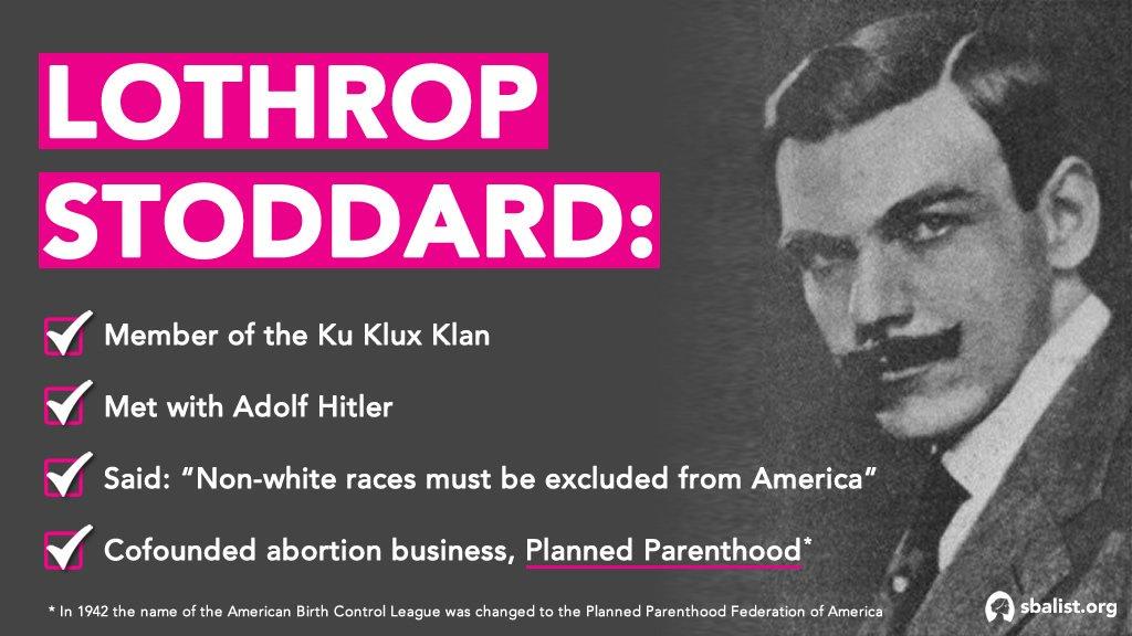 lothrop stoddard planned parenthood