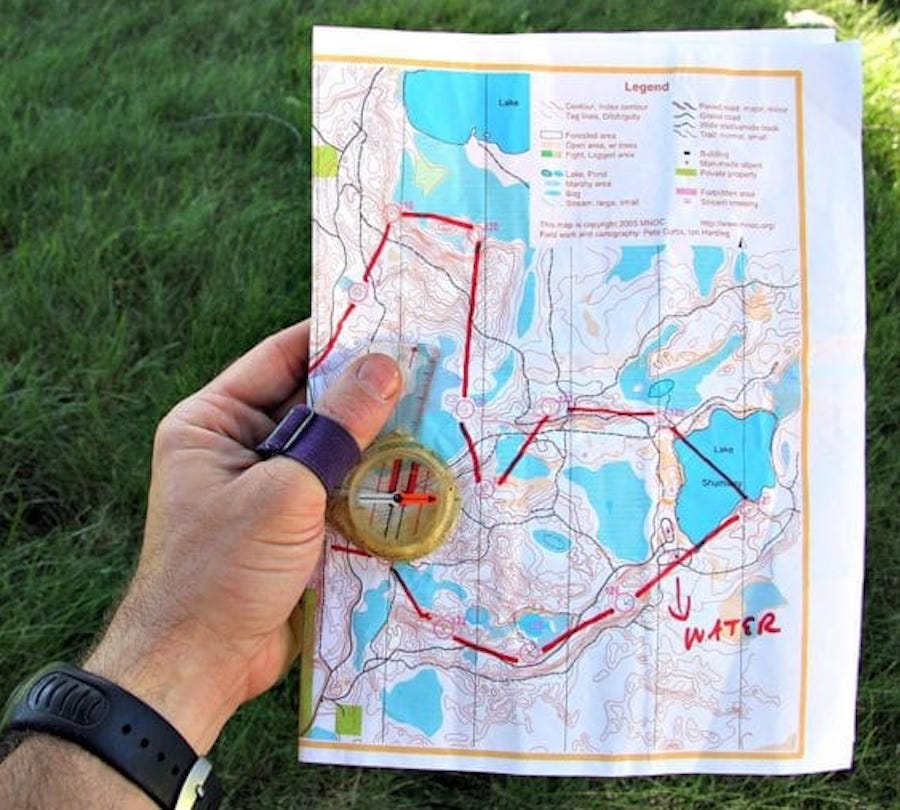 map orienteering