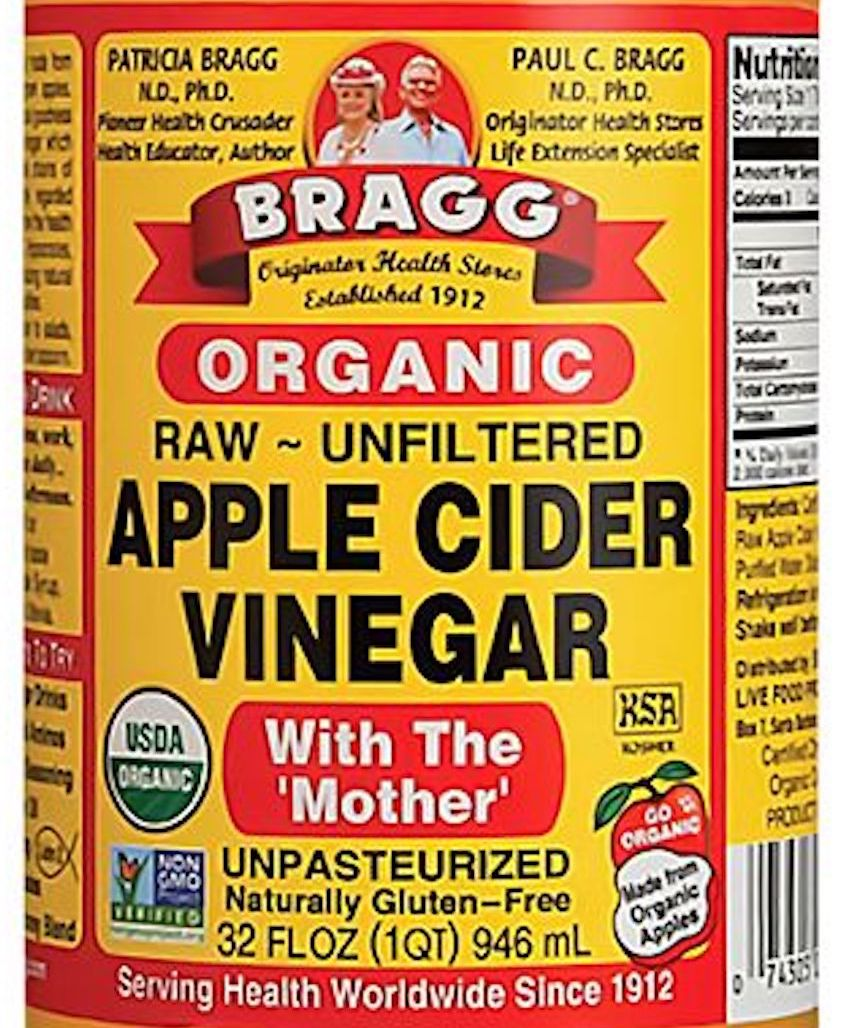 raw cider vinegar