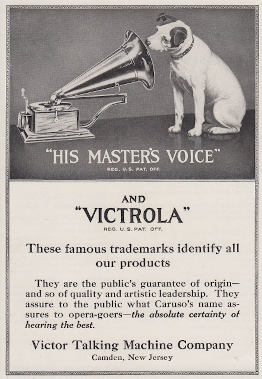rca victor his masters voice