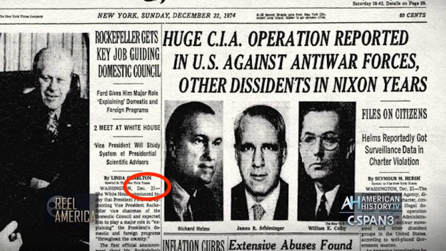 Rockefeller CIA New York Times