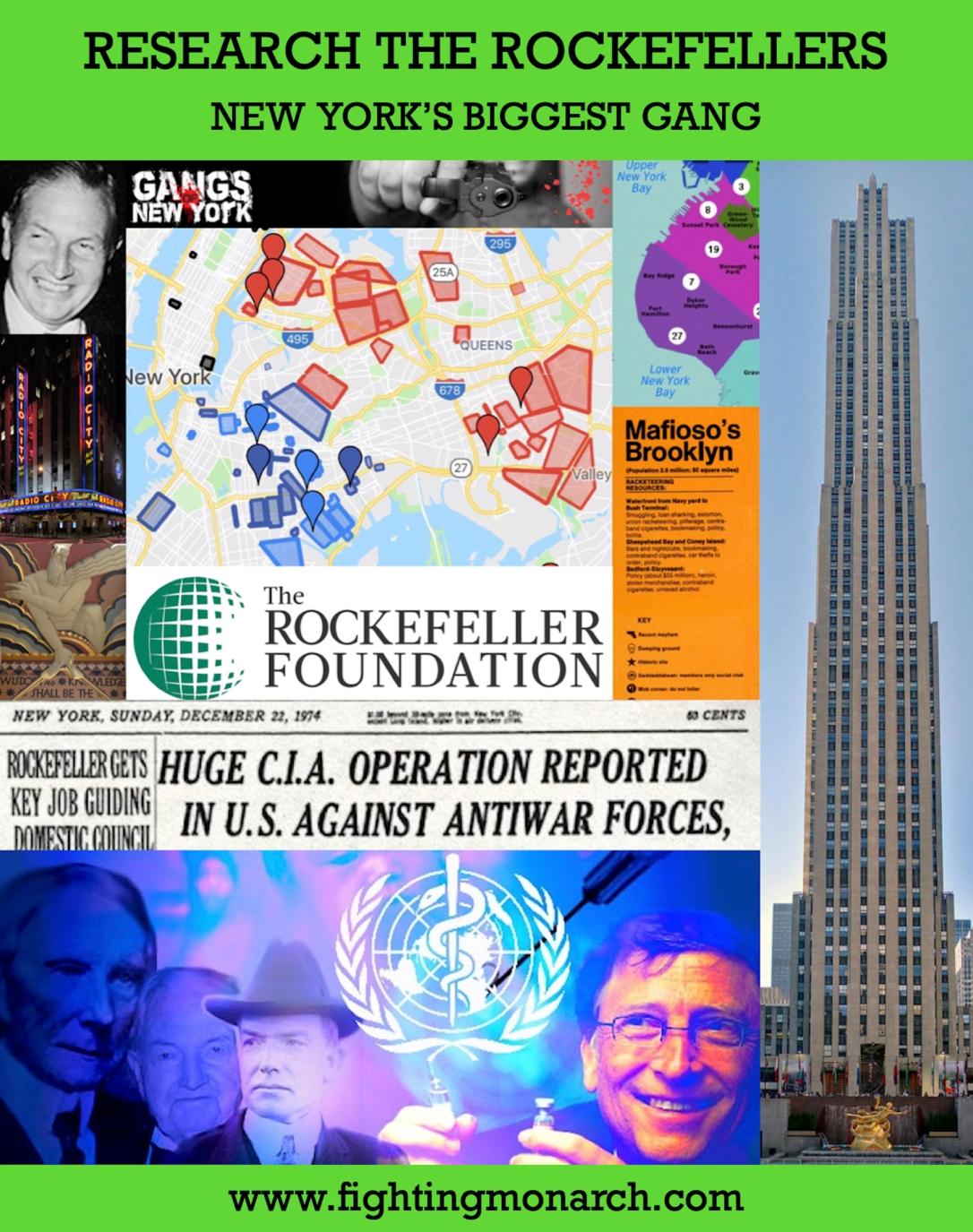 Rockefeller Gang Poster