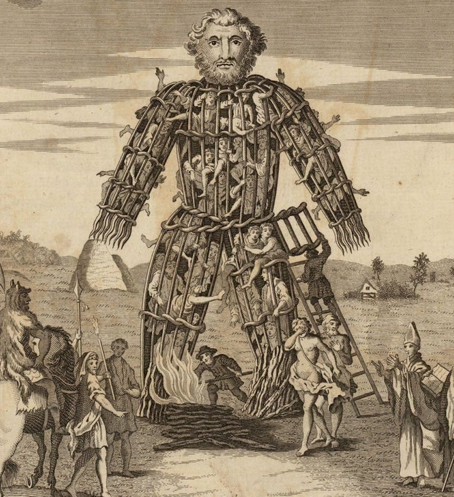 sacrifice wicker man