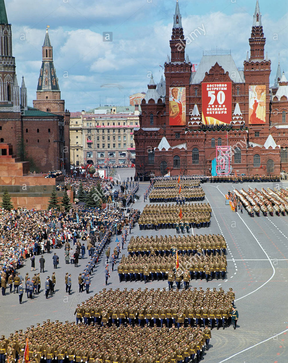 soviet may day red square