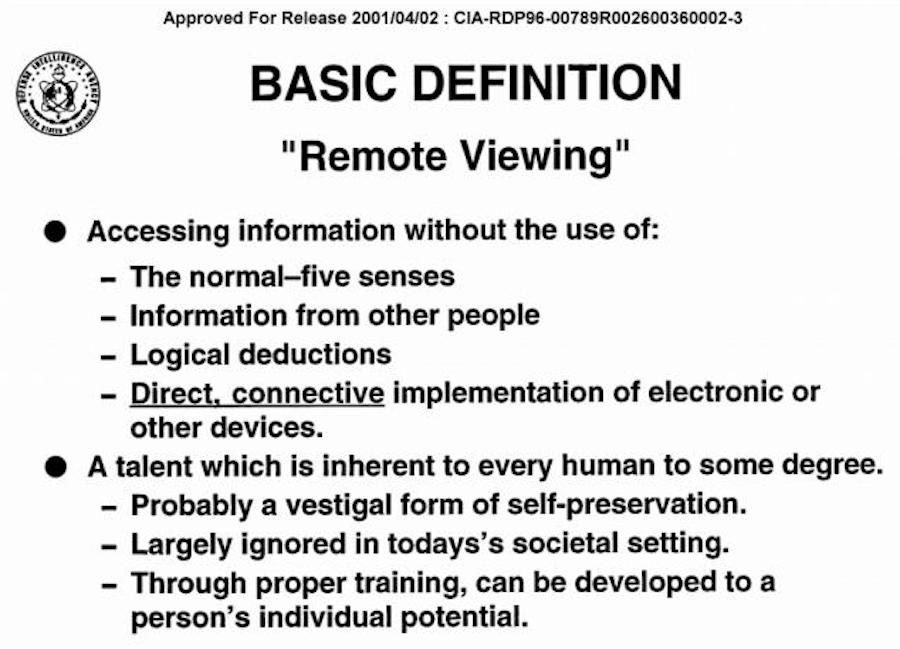 stargate remote viewing