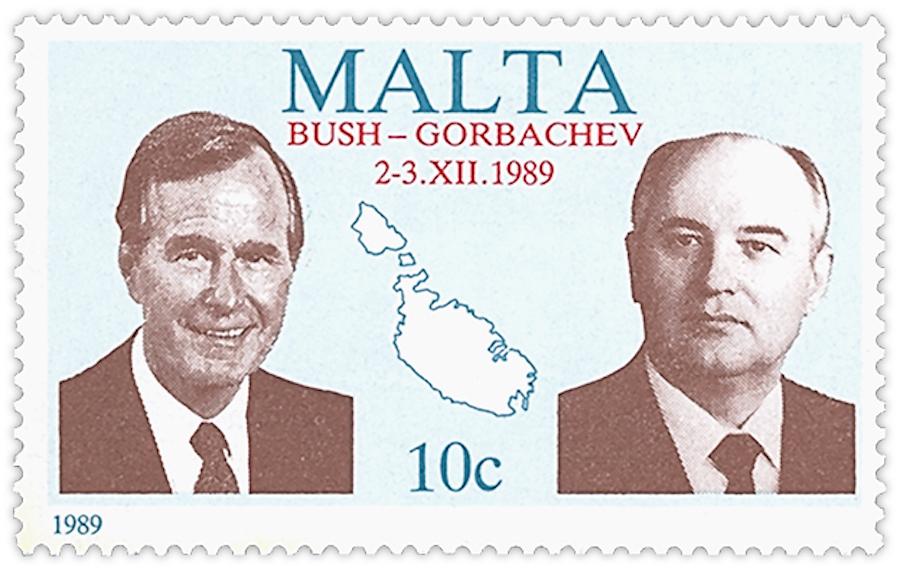 malta bush gorbachev