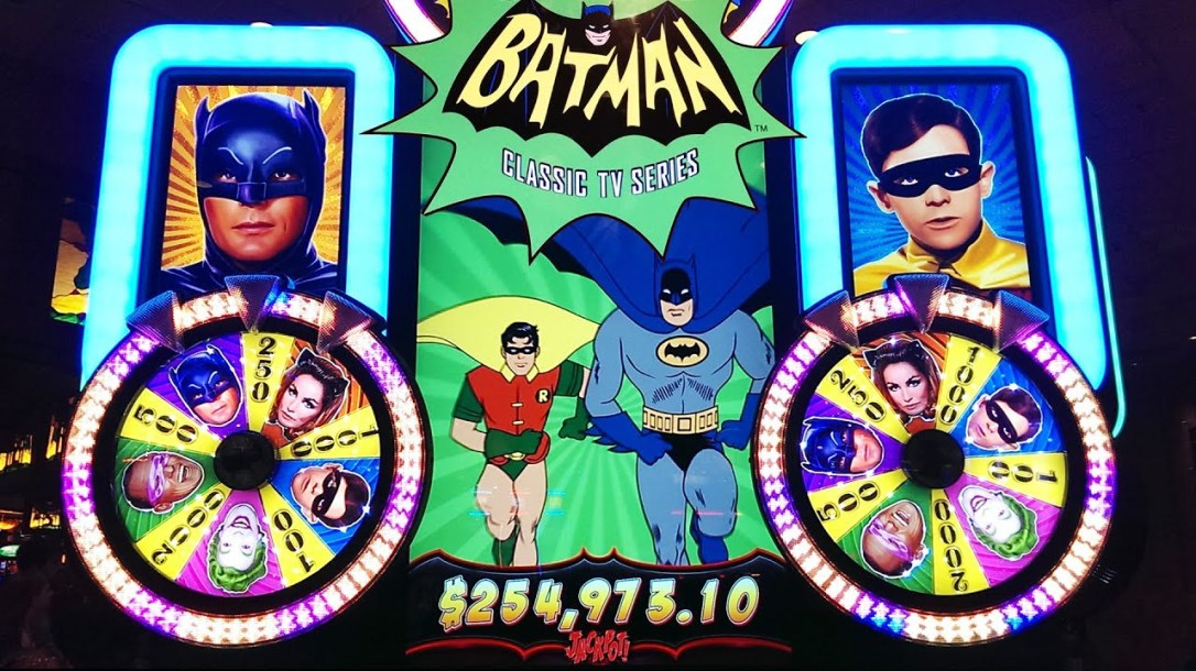 slot machine batman