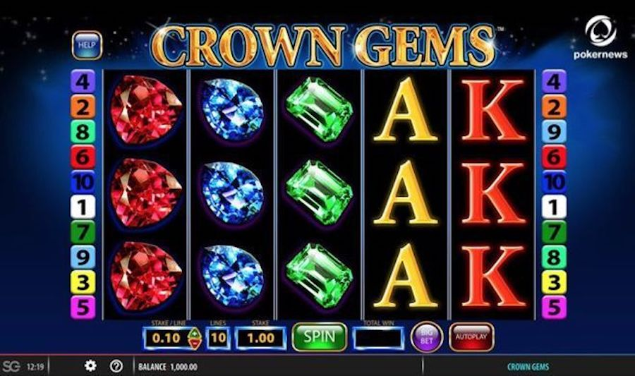 slot machine crown gems