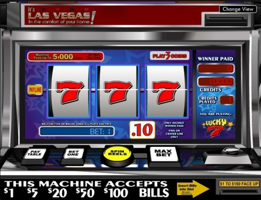 slot machine lucky 7