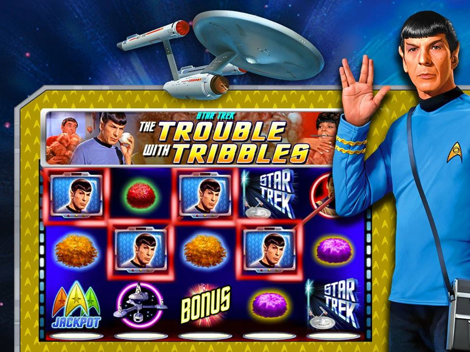 slot machine star trek tribbles